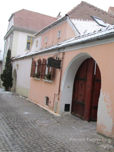 Sighisoara - typical house