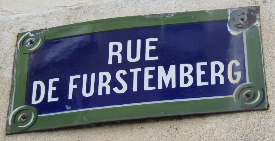 Rue de Furstemberg is one of the most charming squares in Paris. A History of Furstenberg: Coins, a Castle, Porcelain, and a Street