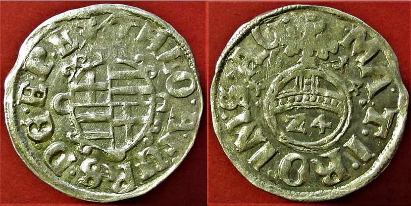 A Theodore von Furstenberg silver coin from 1614 -A History of Furstenberg: Coins, a Castle, Porcelain, and a Street