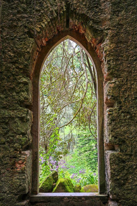 The Twelve Dreams of Mamer, a Medieval Legend, castle window