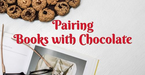 pairing books with chocolate