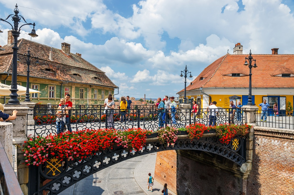Stories and History of Transylvania, the Middle Ages, Sibiu