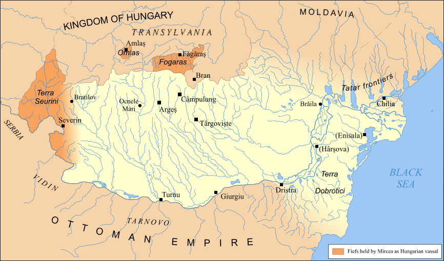 Wallachia, 1390
