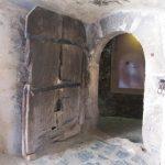 14th century door Corvin Castle