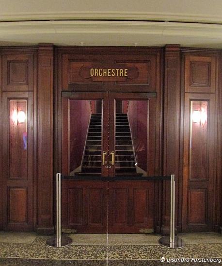 Paris Opera House, Orchestre door