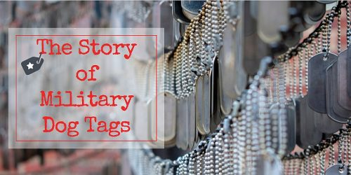the story of military dog tags