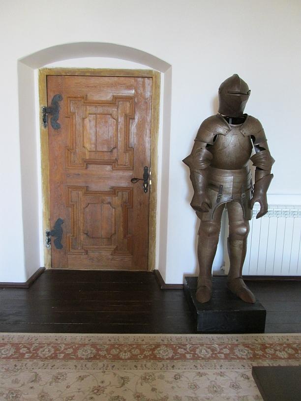 doors towards the Iron Maiden of Fagaras Castle