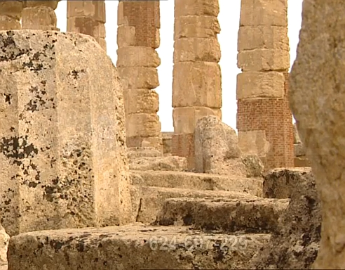 The Spiral Staircase from Symbol to Mystery, the Greek Temple A in Selinunte, Sicily - the earliest example of a spiral staircase