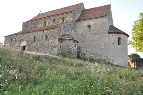 "Fortified 12 century church ""Sf. Mihail"" Cisnădioara, Sibiu"