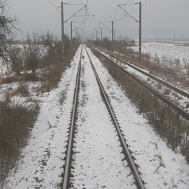life, travel, train, snow