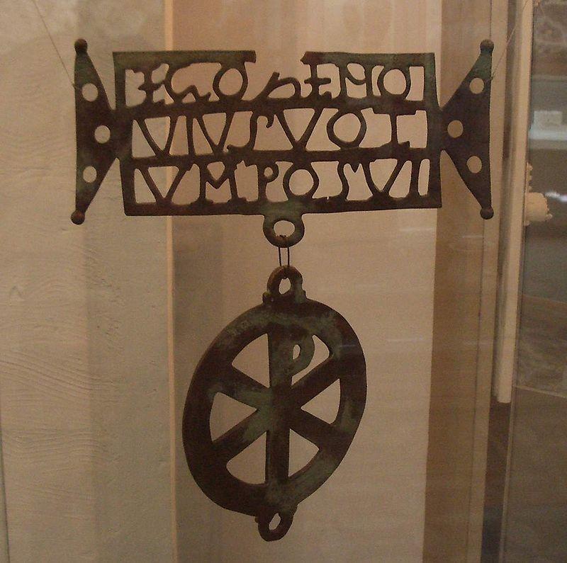 Transylvania during the Roman Dacia until 4th century AD - The Biertan Donarium is a 4th century Christian offering found near Biertan, Transylvania, Romania.