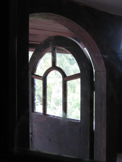 Bran Castle, a Historical Door Kept under Key for Centuries. A door  to Heaven