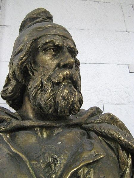 How Dacians looked like - a Genuine Dacian,  National Military Museum, București.