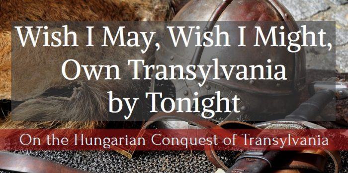 A story about the Hungarian conquest Transylvania