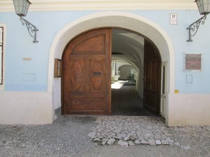 A Winter Story for Thursday Doors, Brasov