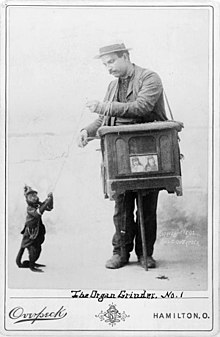 Mank the movie, Symbolism Behind the parable of the Organ Grinder Monkey