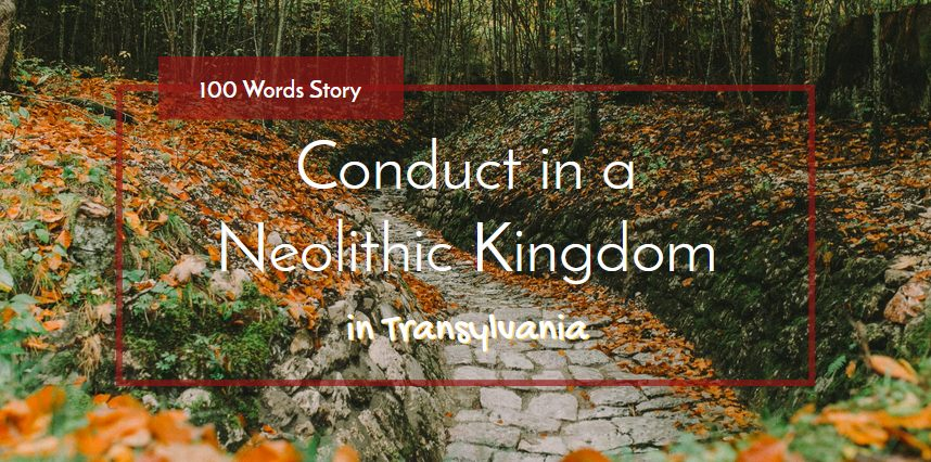 Following a timeline of prehistorical discoveries, Conduct in a Neolithic Kingdom is a 100 words story inspired by Transylvania's history