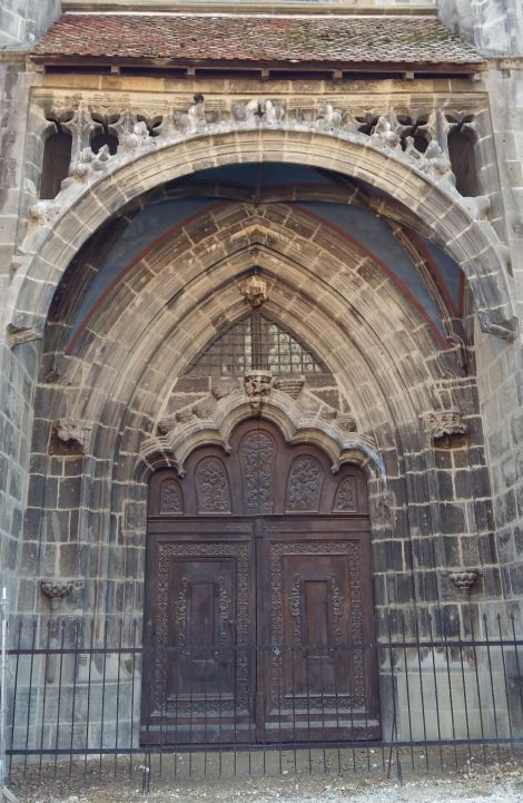 The Golden Gate Portal of Black Church, Brasov
