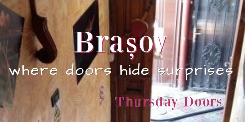 One of the things I love about traveling to Brasov is that in the old city, at least, doors and passageways so hide marvelous surprises.