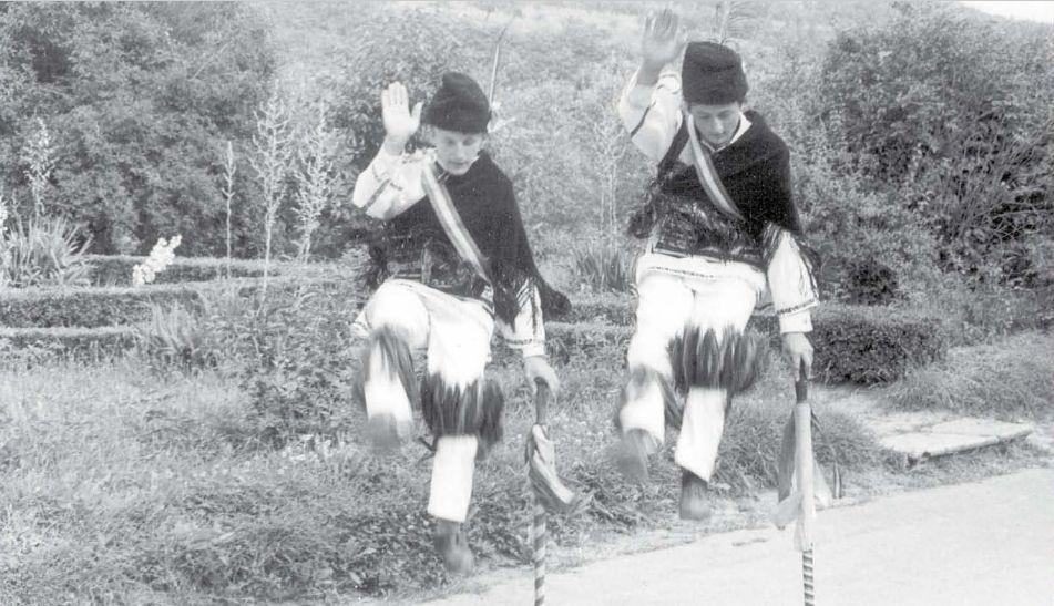 Calusarii dance, Hunedoara