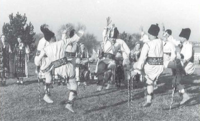 Immortalis, the Immortal Căluşarii Dance, 100 words story, Calusari dance Mures