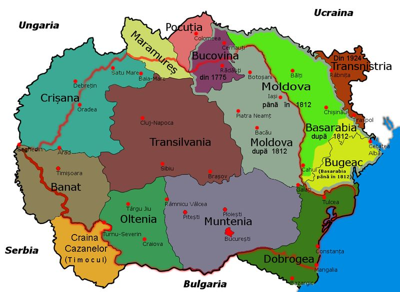 Stories and History of Transylvania, the Middle Ages