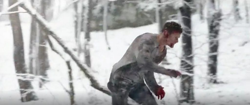 Sam Heughan SAS Red Notice final snow scene analysis Patricia Furstenberg blog
