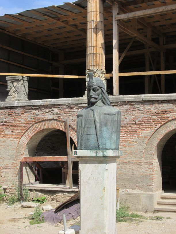 Vlad the Impaler, Curtea Veche Bucuresti