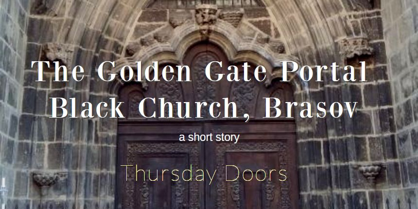 golden gate portal black church brasov