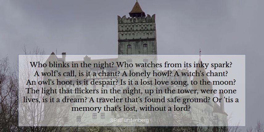 Bran Castle poem Pat Furstenberg